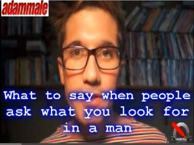 [Video] When People Asked You - What Are You Looking For In A Man