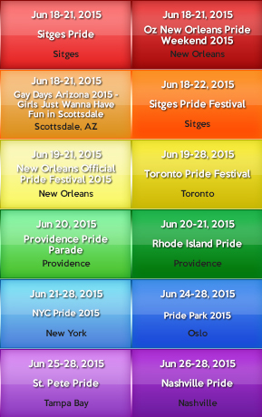 Gay City Side Banners