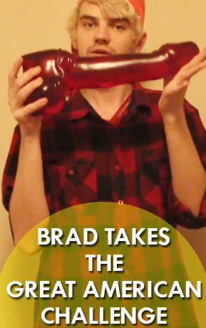 Brad Takes the GREAT American Challenge
