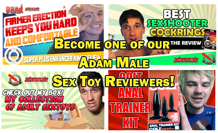 become on of our adammale reviewers